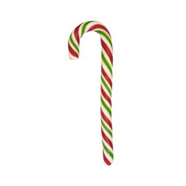 Candy cane lollipop