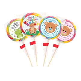 Children's day lollipop
