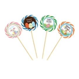 Easter hurricane lollipop