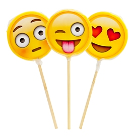 Emotion sticker lollipop